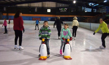 Ice Skating Session for One $10 or Four People $32 at Olympic Ice Skating Centre Up to $80 Value