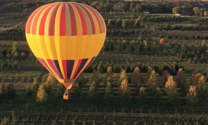 Air Carriage Hot Air Balloon Rides - Air Carriage Hot Air Balloon Rides: Hot-Air-Balloon Ride for Two or Four from Air Carriage Hot Air Balloon Rides (Up to 29% Off)