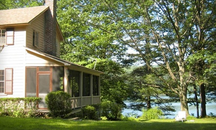 Groupon Deal: Two- or Three-Night Stay at Lakeside Terrace in the Berkshires
