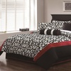 Scarlett 7-Piece Flocked Comforter Set