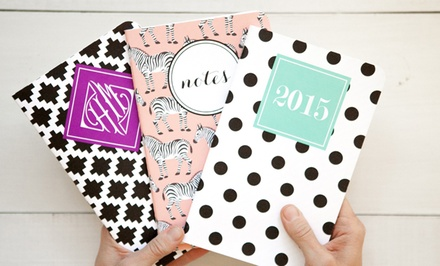 Custom Day Planners from May Designs; 1 for $12 or 2 for $20