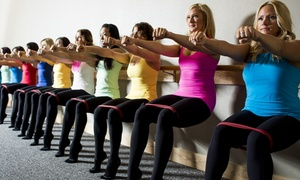 Pure Barre: Two Weeks of Unlimited Classes or 10 Drop-In Classes at Pure Barre (Up to 68% Off)