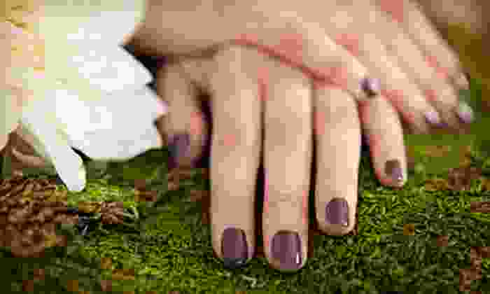 Cura Organics - Orchards At Hopewell Condo: $49 for a Milk Me Baby Manicure and Milk-and-Honey Pedicure at Cura Organics ($120 Value)