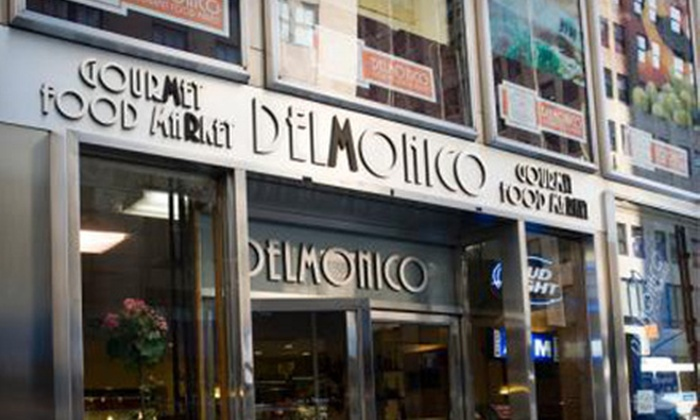 Delmonico Gourmet Food Market - Murray Hill: $5 for $10 Worth of Gourmet Sandwiches, Salads, Sushi, and Desserts at Delmonico Gourmet Food Market