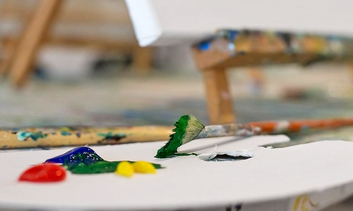 Hook Gallery & Framing - Multiple Locations: Painting Class for One or Two at Hook Gallery & Framing (Up to 55% Off)