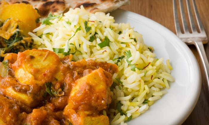 Malai Marke - East Village: Indian Meal for Two or Four with Small Plates, Entrees, Rice, Naan, and Wine at Malai Marke (Up to 63% Off)