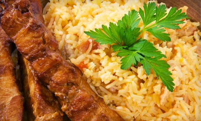 Afghan Kabob House - Arlington: Catered Afghan Meal for 15 or $10 for $20 Worth of Afghan Cuisine at Afghan Kabob House in Arlington