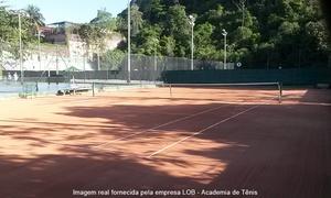 LOB Academia de Tênis: LOB – Laranjeiras: aluguel de quadra para 1 hora de tênis