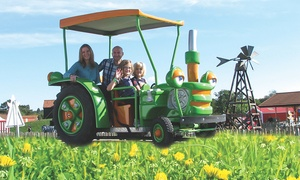 Old Macdonald's Farm: Child, Adult or Family Half Term Farm Entry to Old Macdonald's Farm (Up to 30% Off)