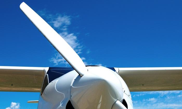 Burlington Aviation - 12, Burlington: $125 for a 60-Minute Flight Lesson Plus Video from Burlington Aviation ($250 Value)