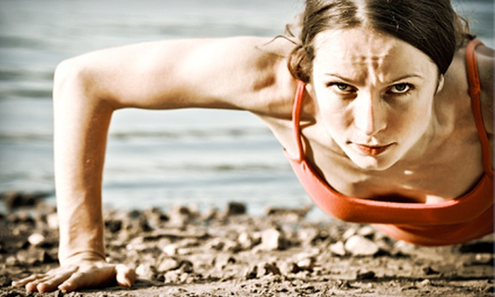 Glory Fitness - Multiple Locations: 5 or 10 Boot-Camp Classes (Up to 86% Off)at Glory Fitness (Up to 86% Off)