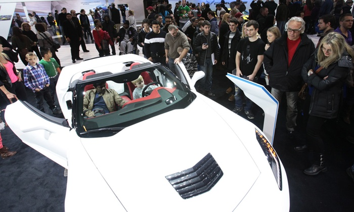 Chicago Auto Show - Downtown: Weekday or First-Weekend Visit for One to the Chicago Auto Show (Up to 42% Off)