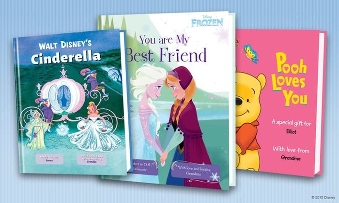 Put Me In The Story: One, Two, Three, or Five Personalized Disney Children's Books from Put Me in the Story (Up to 61% Off)