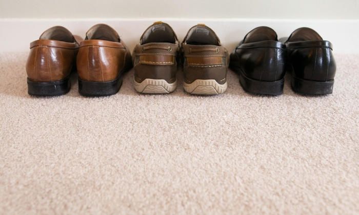 Carpet Boss - Des Moines: Carpet Cleaning for Two Rooms or Four Rooms from Carpet Boss (Up to 72% Off)