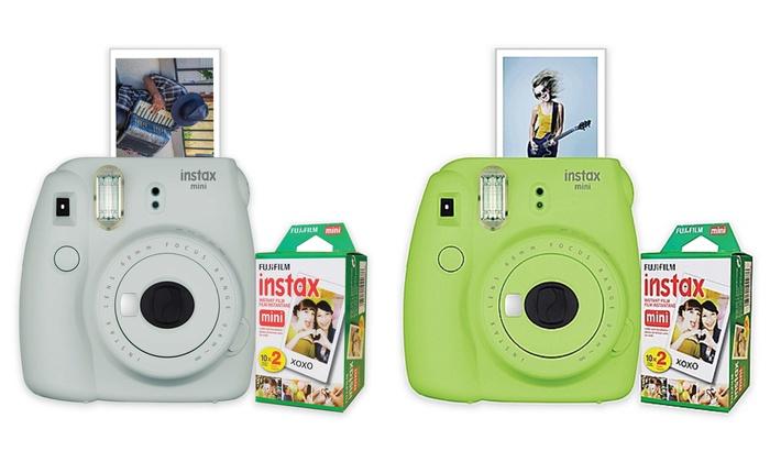 Fujifilm Instax Mini 9 Instant Film Camera with Film 20-Pack