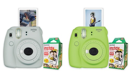 Fujifilm Instax Mini 9 Instant Film Camera with Film 20-Pack