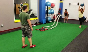 Meta Moves Fitness: 5 or 10 Semiprivate 45-Minute Metabolic-Training Sessions at Meta Moves Fitness (Up to 76% Off)