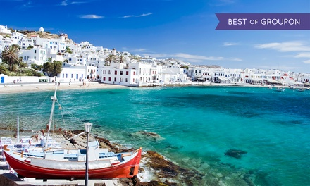 9-Day Greek Islands Vacation with Airfare from go-today; Price/Person Based on Double Occupancy