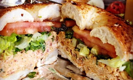 Three Groupons, Each Good for $10 Worth of Bagels and Deli Items at Owens Bagel and Deli (Up to 50% Off)