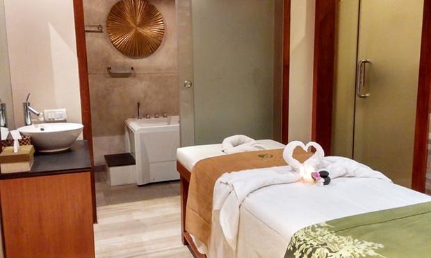 Foot Reflexology, Body Massage  Facial At Oryza Day Spa -7230