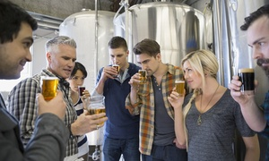 Pints of Portsmouth Brew Tours: Brewery Tour with Tastings and Lunch for Two, Four, or Six People at Portsmouth Brew Tours (Up to 55% Off)