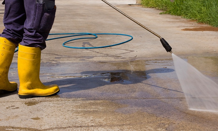 SemperFi Lawn Care Services - Washington DC: Power Washing from SemperFi Lawn Care Services (Up to 82% Off). Three Options Available.