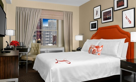 Stay at The Lexington Hotel New York City in Midtown Manhattan, NY. Dates into April.