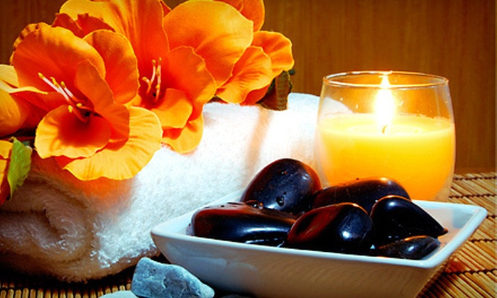 Merle Norman - Brentwood: $40 for 60-Minute Aromatherapy Massage or Brazilian Wax at Merle Norman ($85 Value)
