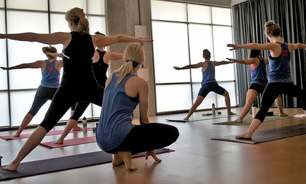 One Month of Unlimited Indoor Cycling and Yoga Classes or 10 Classes at Resolute Fitness (Up to 67% Off)