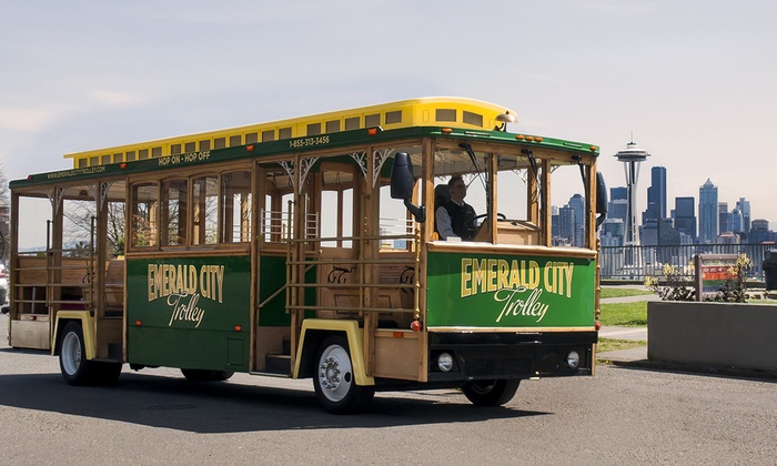 Emerald City Trolley - Seattle: One-Day Trolley Tour for One, Two, or Four from Emerald City Trolley (Up to 38% Off)