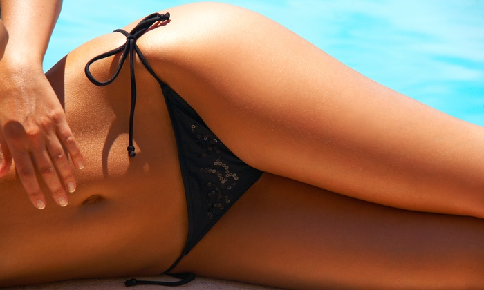 Ultra Tan Louisville - Multiple Locations: Five UV Tanning Sessions or Two Mystic Spray Tans at Ultra Tan Louisville (Up to 51% Off)