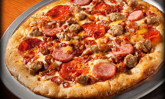 Top That! Pizza - Aurora: $7 for $14 Worth of Pizza at Top That! Pizza