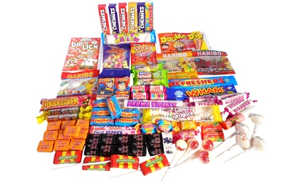 Selection of Retro Sweet Hampers