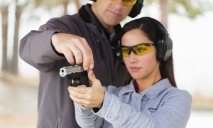 Highsmith Guns: Rental Gun Shooting Package for One or Two at Highsmith Guns (Up to 58% Off)