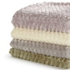 Simone Collection Luxury Sculpted Throw Blanket