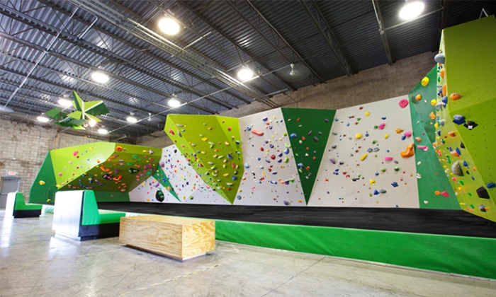 Kinetic Climbing & Fitness - Hilltop: Indoor Rock Climbing for Two or Four, or 3 Months of Unlimited Climbing at Kinetic Climbing & Fitness (59% Off)