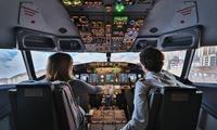 Prenez les commandes d'un simulateur de vol avec enregistrement vidéo dès 114 € avec European Flight Simulator
