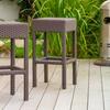 Set of 2 Rudolfo Outdoor Backless Barstools