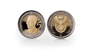 Mandela 90.net: One MS66 Mandela Graded R5 Coin for R549