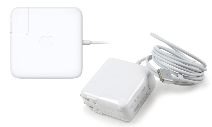 apple 45w magsafe 2 power adapter for macbook air. apple magsafe 2 power adapters for macbook air or pro: 45w magsafe adapter macbook b