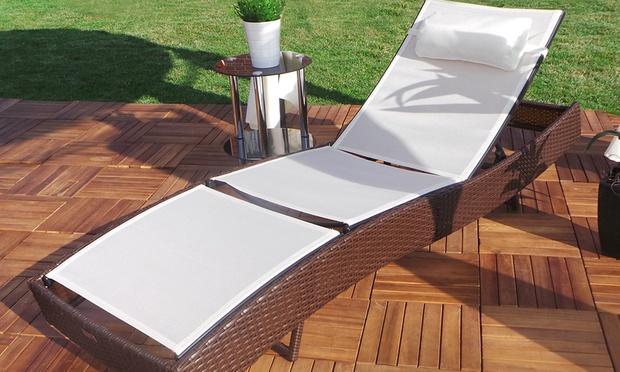 swing harmonie polyrattan liege groupon goods. Black Bedroom Furniture Sets. Home Design Ideas