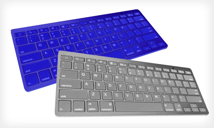 Hype Ultra-Slim Bluetooth Keyboards: $18.99 for a Hype Ultra-Slim Bluetooth Keyboard ($59.99 List Price). Five Colors Available. Free Shipping and Returns.