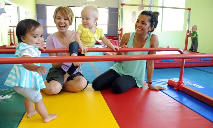 The Little Gym of Pearland - Pearland: Two or Five Recreational Kids' Classes or Parents' Survival Night at The Little Gym (Up to 52% Off)