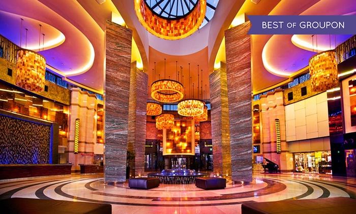 The Fox Tower at Foxwoods Resort Casino - Mashantucket, Connecticut : Stay w/ Dining Credit, VIP Check-In/Late Check-Out at The Fox Tower at Foxwoods Resort Casino. Dates in April