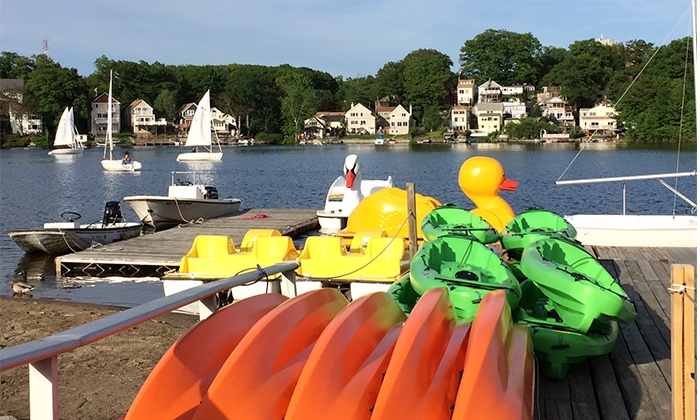 Regatta Point Community Sailing - Worcester: 1- or 2-Hour Boat or SUP Rental, or 1 or 2 Sailing Lessons at Regatta Point Community Sailing (Up to 58% Off)