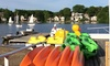 Regatta Point Community Sailing - Biotech Park Area: 1- or 2-Hour Boat or SUP Rental, or 1 or 2 Sailing Lessons at Regatta Point Community Sailing (Up to 58% Off)