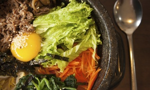 Rice Restaurant & Market: $16 for $30 Worth of Korean Cuisine at Rice Restaurant & Market