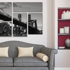 6-Panel Gallery-Wrapped Canvas Art