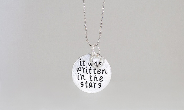 Monogramhub.com: $5 for a Written in the Stars Necklace from Monogramhub.com ($49.99 Value)
