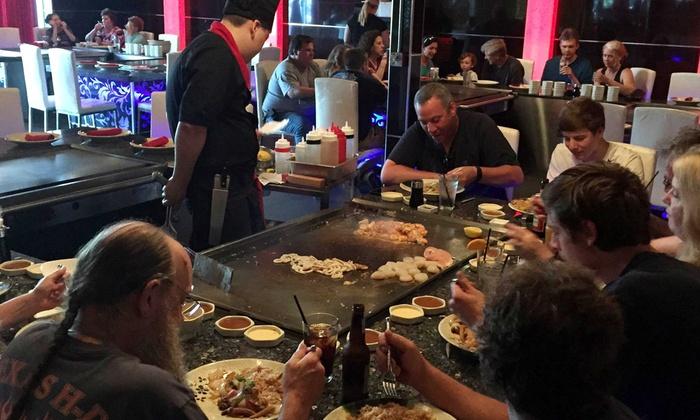 Sawa Asian Bistro - Shrewsbury: Hibachi Dinner for Two or Four at Sawa Asian Bistro (Up to 38% Off)